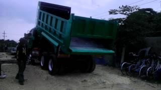 10PD isuzu 10w dumptruck