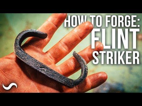 HOW TO MAKE A FLINT STEEL STRIKER!!! FT: TA-Outdoors
