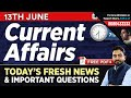 #338: 13th June 2019 Current Affairs in Hindi | June 2019 Current Affairs Questions + GK Tricks