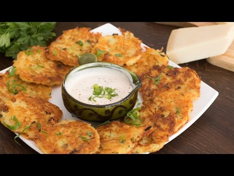 Cheese Potato Pancakes Recipe