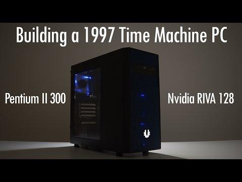 Pentium II 300 Build with Nvidia Riva 128 AGP Graphics Card ft. BitFenix Neos Window