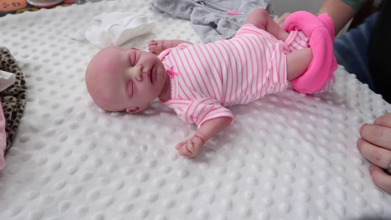 Haul Silicone Full Body Micro Preemie Gets Changed