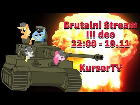 Brutlani Vod III deo - Kojot igra World of Tanks
