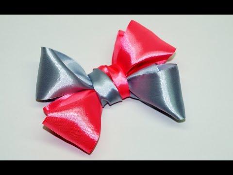 diy-for-girls:-how-to-make-a-hair-bow.-cute-hair-bow-making.-hair-accessories.-diy-crafts/-julia-diy