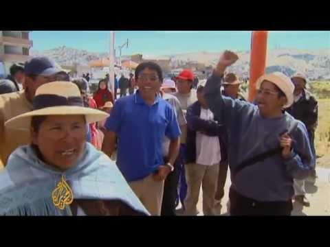 Peru: Aymaras protest transnational mining company