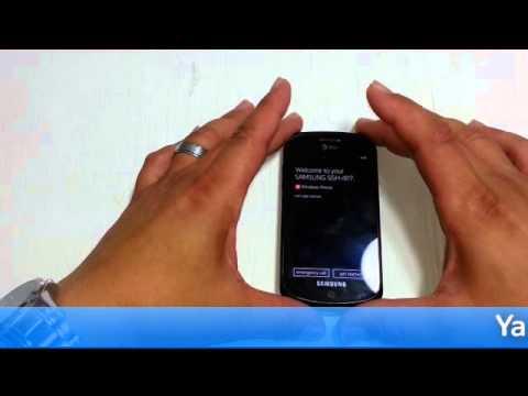 Master Reset Samsung I917 (Focus)