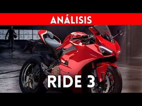Análisis RIDE 3 4K (Xbox One X) - Review