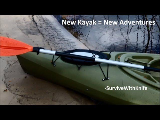 New Kayak = New Adventure