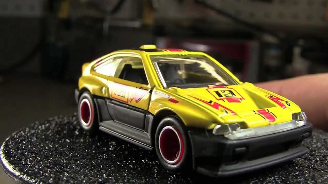 Honda Cr X >> Hot Wheels : 2013 Hot Wheels Boulevard M Case : 1985 Honda CR-X - YouTube