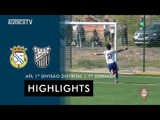 FC Alverca 3 - 0 Coutada    Highlights