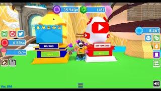 How I got the PET GS-BRICK!! (WINTER) | Roblox Ice Cream Simulator Update 16