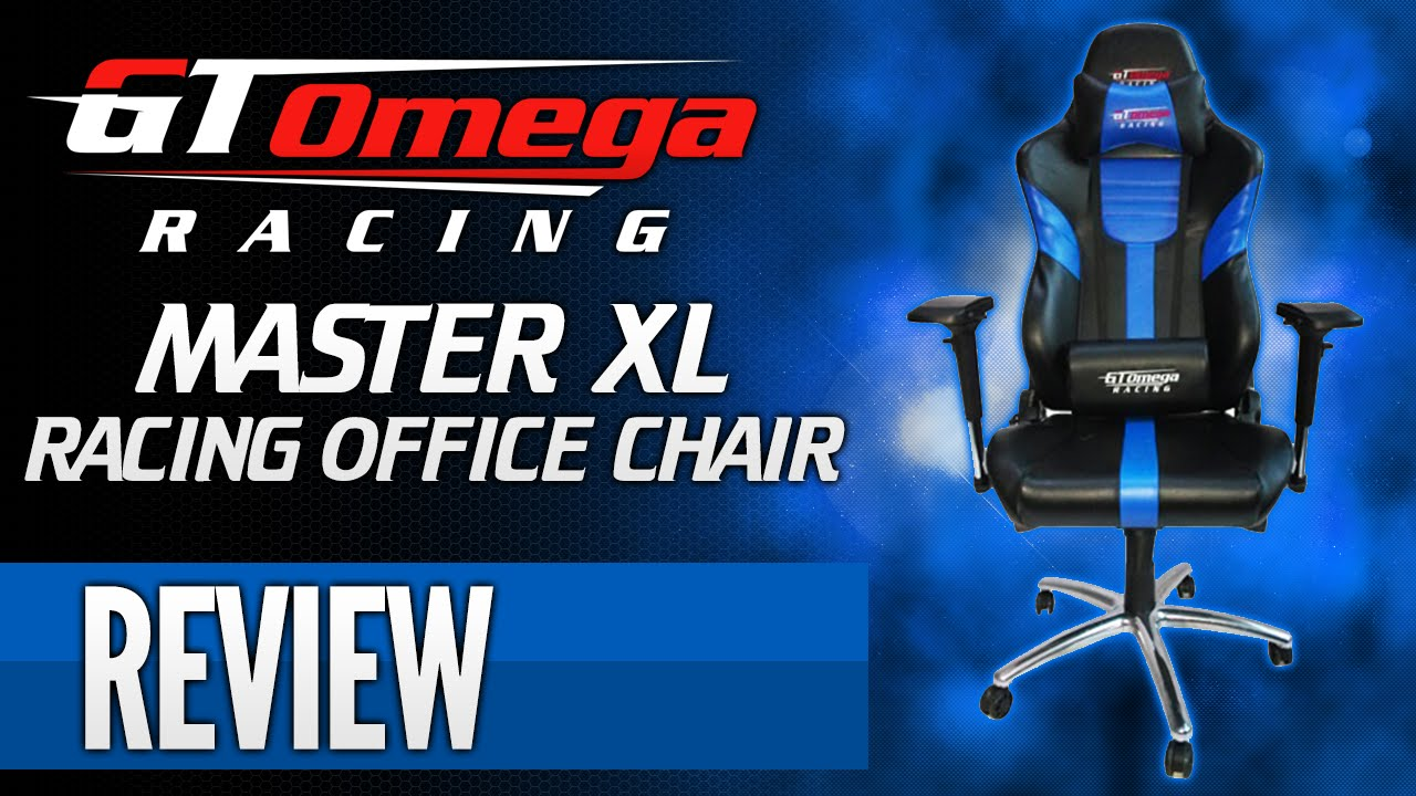 xl desk chair king san antonio gt omega racing master gaming office review youtube