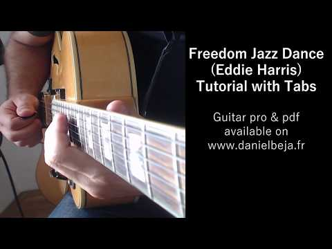 Freedom jazz dance lesson for Guitar