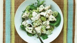 Simple Tarragon Spring Chicken Salad