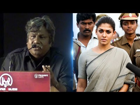 """""""Nayanthara is like Assistant Director in this film""""- Gopi Nainar   Aramm   TN 338"""
