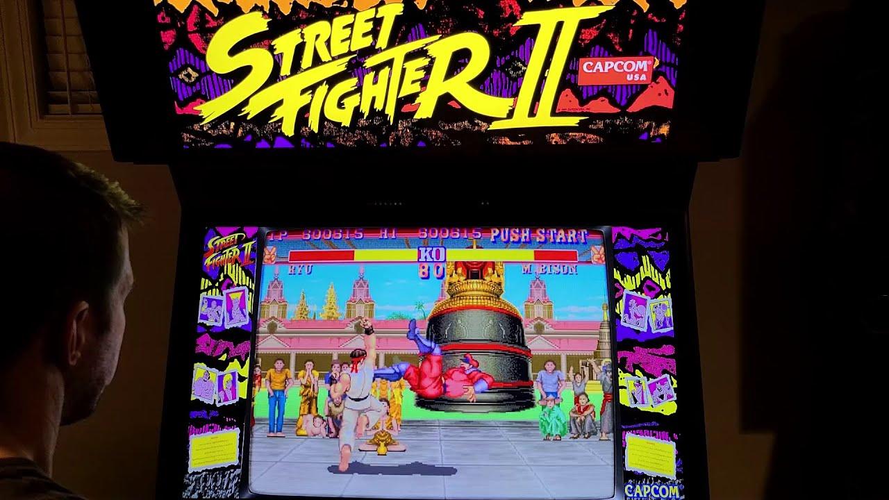 Street Fighter Ii The World Warrior Arcade Cabinet Mame