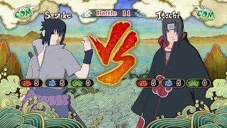 Naruto Shippuden: Ultimate Ninja Storm 3, Sasuke Uchiha VS Itachi Uchiha!