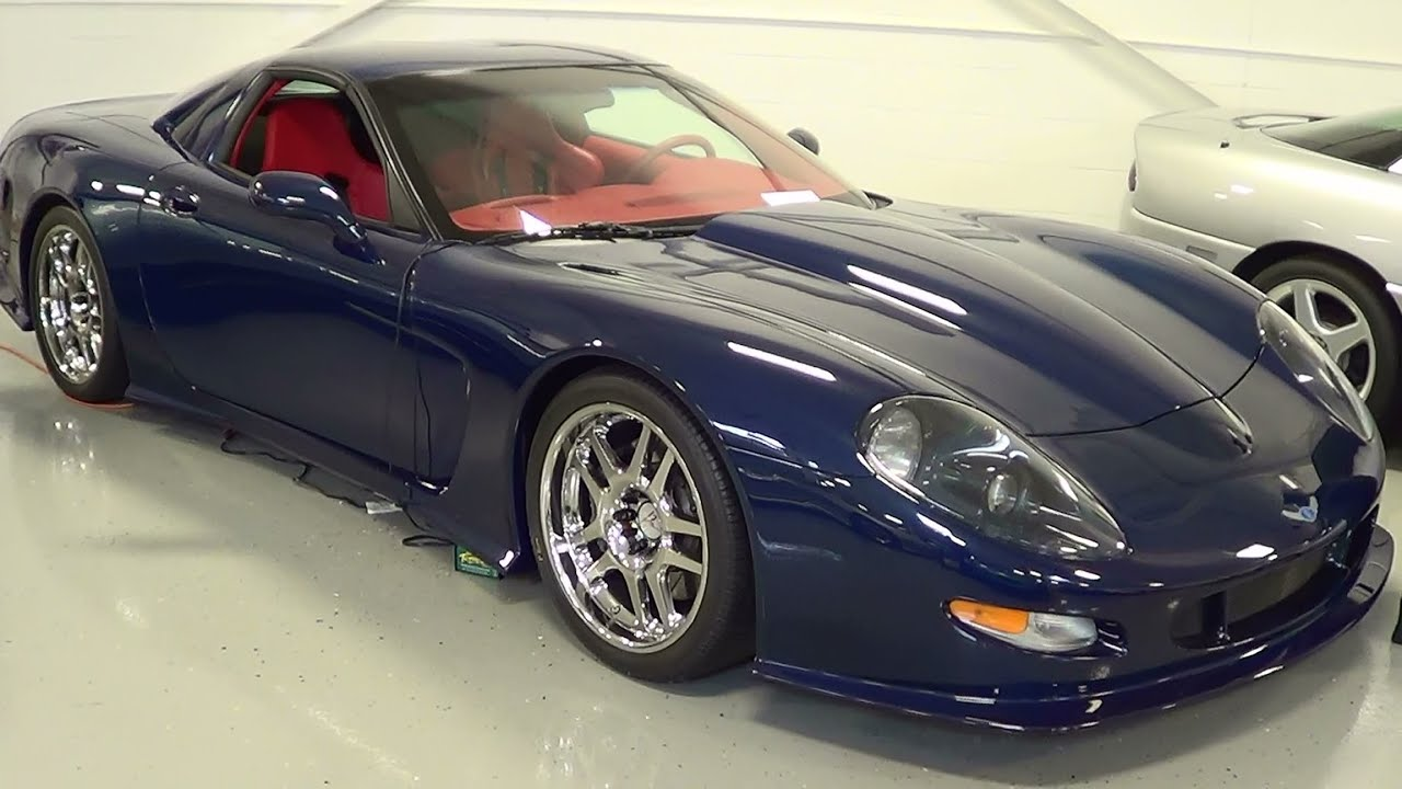 2000 Callaway C12 Inky Blue Lingenfelter Private Collection You