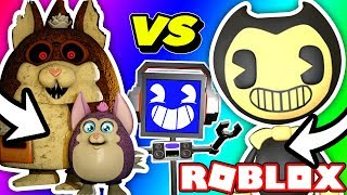 Bendy VS Tattletail ROLEPLAY (in Roblox)