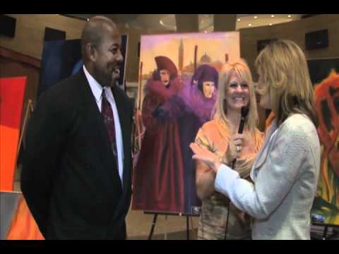 """Kassie Smith Lifestyle TV"" at Las Vegas World Market for HD 2012 Gallery Night"