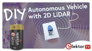DIY Autonomous Vehicle with 2D LiDAR
