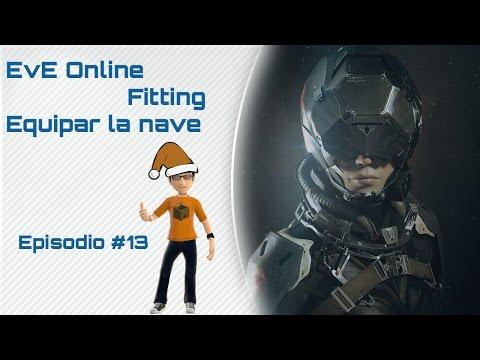 Eve Online - Gameplay en español - Cómo empezar #13 Fitting, CPU, powergrid...