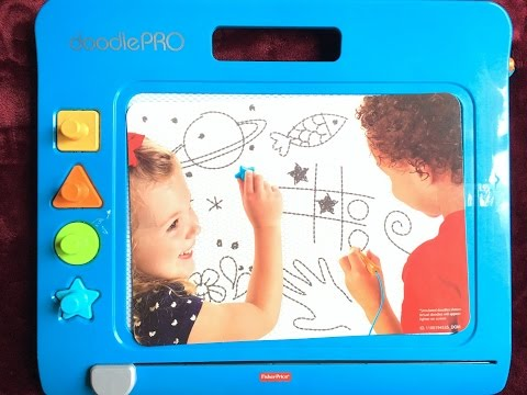Fisher-Price Doodle PRO Slim REVIEW In HINDI