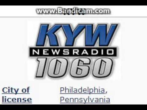 KYW NewsRadio 1060 ID and TOTH at 5:00 p.m. for 4/5/2014