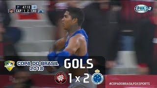 Atlético Paranaense 1 x 2 Cruzeiro - Copa do Brasil 2018 - Fox Sports HD⁶⁰