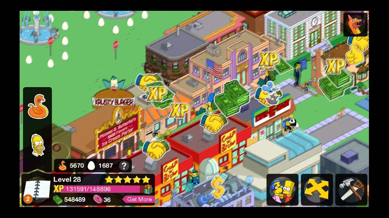 Simpsons tapped out legs slot youtube slots bonus rounds
