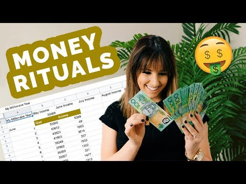 My Money Rituals | Tracking, Money Bowls and More