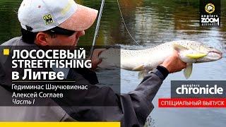 Salmon Streetfishing in Lithuania. Gediminas Shauchuvienas, Alexey Soglaev, Part 1.