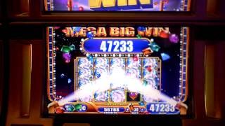 awesome win on mystical unicorns at parx casino