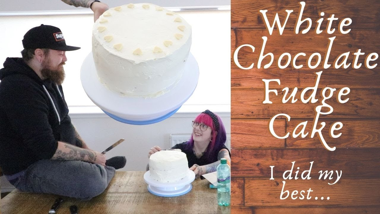 White Chocolate Fudge Cake - Feat Count Dankula