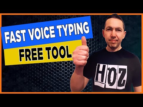 BEST Dictation Software - Voice Typing Google Docs (FREE!)