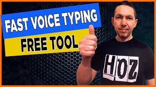 BEST Dictation Software - Voice Typing Google Docs (FREE!) screenshot 1