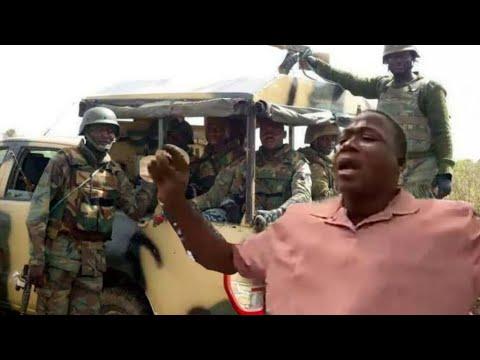 SEE THE B@&&LE BETWEEN SUNDAY IGBOHO & FULANI HERDSMEN AS NIGERIA SOLDIERS SENT TO IGBOHO STEP ASI