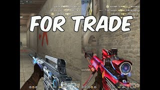 Major Silver 2 VIP Barrett Iron Shark and M4A1 Iron Beast (For Trade)