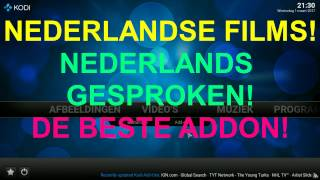 KODI - Nederlandse films Nederlands gesproken!