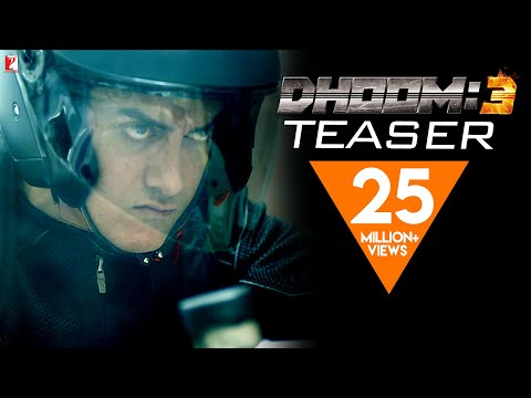 DHOOM:3 | Official Teaser | Aamir Khan | Abhishek Bachchan | Katrina Kaif | Uday Chopra