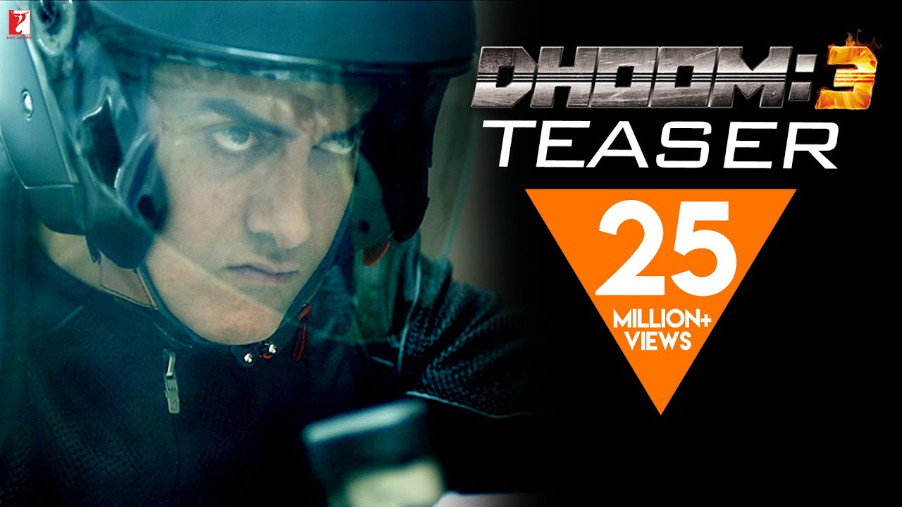 Download DHOOM:3 | Official Teaser | Aamir Khan | Abhishek Bachchan | Katrina Kaif | Uday Chopra