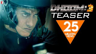 Video DHOOM:3 | Official Teaser | Aamir Khan | Abhishek Bachchan | Katrina Kaif | Uday Chopra download MP3, 3GP, MP4, WEBM, AVI, FLV Januari 2018