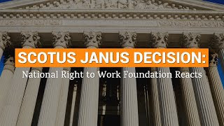 Download Video National Right Work Foundation's Mark Mix on the Janus Decision MP3 3GP MP4