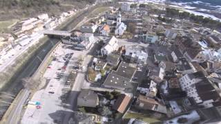 Gambar cover Ilanz, Switzerland Drone Fly  Over