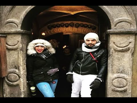 In Graphics: PICS: Gurmeet Choudhary & wife Debina Bonnerjee off to EUROPE for a ROCKING v