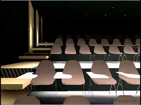 3D Lighting Design Of a Conference Room.MP4