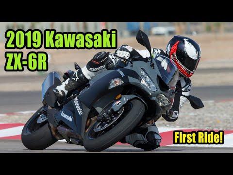 2019 Kawasaki ZX 6R Review – First Ride