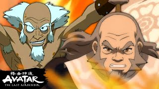 Best White Lotus Battles from Iroh, Bumi, and More! 𑁍 | Avatar