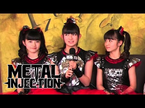 BABYMETAL Interview on Metal, Their Music, Playing in America | Metal Injection