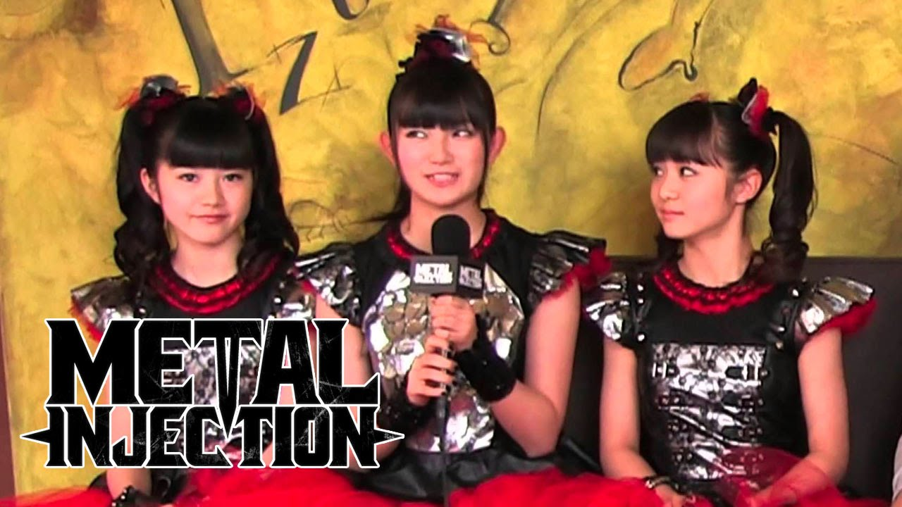 Babymetal Interview On Metal Their Music Playing In America Metal Injection Youtube